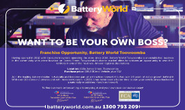 battery world toowoomba