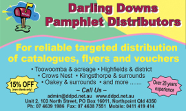 darling downs pamphlet distributors